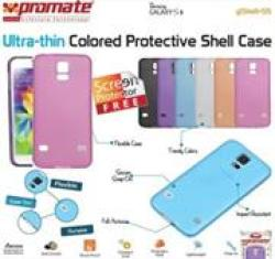Promate Gshell S5 Ultra-thin Colored Protective Shell Case For Samsung Galaxy S5 Colour : Pink