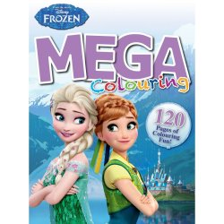 FROZEN - 120 Page Mega Colouring And Activity Book