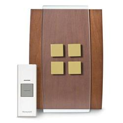 Honeywell RCWL3506A1003 N Decor Wireless Doorbell Door Chime And Push Button