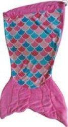 Meerkat Kiddies Mermaid Sleeping Bag - Pink