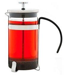 GROSCHE York Glass French Press Coffee And Tea Maker - 1000ML 34 Fl. Oz 8 Cup 3 Coffee Mugs