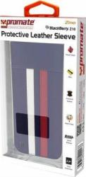 Promate 6959144000138 Zino Blackberry Z10 Protective Leather Sleeve - Black