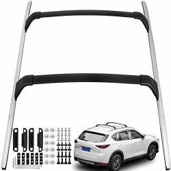Mophorn Roof Rack 4Pcs Aluminium Roof Rack Rail for Honda CRV CR-V 2017 2018 2019 2020 Car Luggage Rack Baggage Cross Bar Carrier