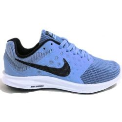 Nike Size 7.5 Downshifter 7 Womens Running Shoes in Blue