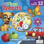 Bubble Magnet: My First Words Abc Book & Toy