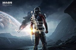 """CGC Huge Poster - Mass Effect Andromeda PS4 Xbox One - EXT650 24"""" X 36"""" 61CM X 91.5CM"""