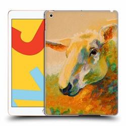 Official Marion Rose Ewe Study 3 Sheep Hard Back Case Compatible For Ipad 10.2 2019