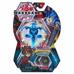 Bakugan Ultra - Aquos Cloptor - 3-INCH Tall Collectible Transforming Creature For Ages 6 And Up - Wave 6