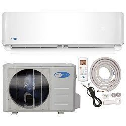 Whynter MINI Split Inverter System & Heat Full Set Seer 17 12000 Btu 115V Ductless Air Conditioner And Heat Pump