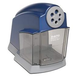 X-ACTO School Pro Classroom Electric Pencil Sharpener Blue 1 Count
