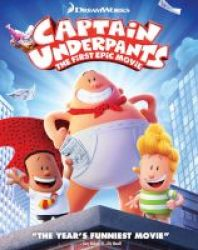 Dreamworks Home Entertainment Captain Underpants - The First Epic Movie Blu-ray Disc