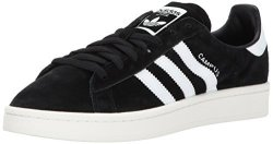 Adidas Originals Men's Campus Sneakers Black white chalk White 12.5 M Us