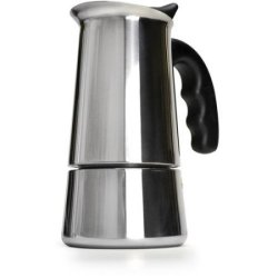Stainless Steel 6-CUP Stovetop Espresso Maker With Silicone Handle By Primula PES-4606