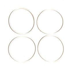 Fab International Replacement Gasket Compatible With Bella Rocket Sports Blender 4 Pack