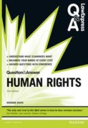Law Express Question And Answer: Human Rights Paperback 2ND New Edition