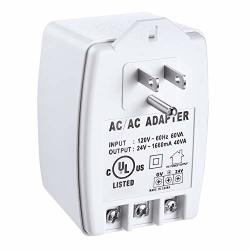 24VAC 40 Va Ac Transformer Plug In With Ptc Fuse Compatible With Ring Nest Doorbell Thermostats Ul Certified