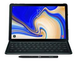 Samsung EJ-FT830UBEGUJ Galaxy Tab S4 Book Cover Keyboard Black
