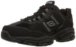 Skechers Sport Men's Vigor 2.0 Trait Memory Foam Sneaker Black 11 M Us