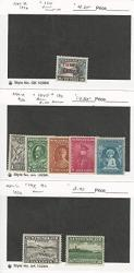 Newfoundland Postage Stamp 160 196 Mint Hinged 1929-32 Dkz