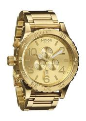 All Gold The 51-30 Chrono By Nixon