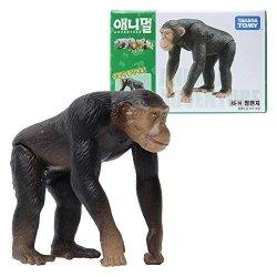 Takara Tomy Ania AS-14 Animal Chimpanzee MINI Action Figure Educational Toy