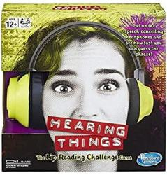 IKura Express Hasbro Gaming E2617102 Hearing Things Game