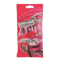 Supermax Ladies Disposable Razors Pack 5s