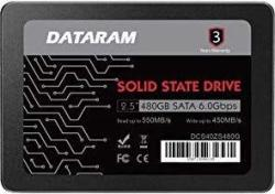DATARAM 480GB 2.5 SSD Drive Solid State Drive Compatible with GIGABYTE P34F V5