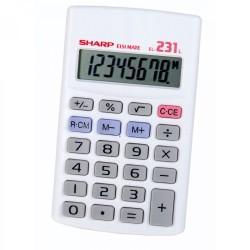 Sharp Calculator El 231l