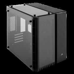 Corsair Crystal Series 280X Tempered Glass Micro Atx PC Case Black