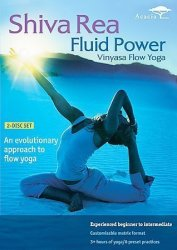 Shiva Rea Fluid Power Vinyasa Flow Yoga DVD