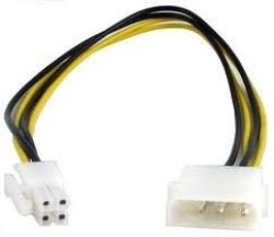 MICROWORLD Molex To 4 Pin Pcie Converter Cable