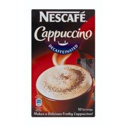 NESCAFE - Cappucino Decaff 10'S Sachets