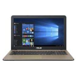 Asus F540MA-GQ117T 15.6 Celeron Notebook - Intel Celeron N4000 500GB Hdd 4GB RAM Windows 10 Home 64-BIT
