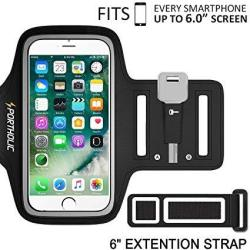 newest 05eaa 2c1f5 Apple X 8 Plus 7 Plus 6 Plus 6S Plus Armband Portholic Cell Phone Workout  Arm Band For Samsung Galaxy S6 S7 Edge S8 S8 Plus | R397.00 | Earphones |  ...