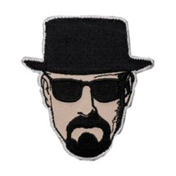J&C Family Owned Cosplay Application New Breaking Bad Walter White Applique Patch