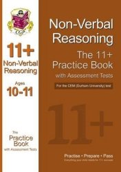 11+ Non-verbal Reasoning Practice Book With Assessment Tests Age 10-11 For The Cem Test