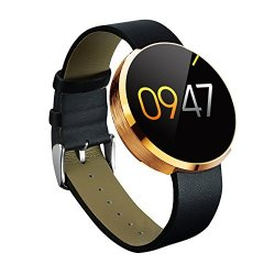 Kobwa All- In -one DM360 Wearables Smart Watch With Pure Steel Case Hands-free Voice Control Bluetoot