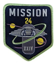 Lost In Space - New Series Mission Patch - Cosplay Sci-fi Collectible Large