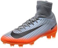 Nike Junior Mercurial Superfly V CR7 Football Boots 852483 Soccer Cleats UK 3.5 Us 4Y Eu 36 Cool Grey Metallic Hemattite 001
