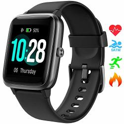 Smart Watch Umidigi UWATCH3 Fitness Tracker With 5ATM Waterproof All-day Heart Rate And Activity Tracking Sleep Monitoring Smartwatch For Men Women Compatible With Iphone