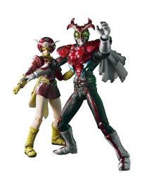S.i.c. Vol. 55 Masked Rider Stronger & Tackle Action Figure Set Kamen Rider