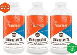 Bulletproof Brain Octane Mct Oil Perfect For Keto And Paleo Diet 100% Non-gmo Premium C8 Oil Ketogenic Friendly Responsibly Sour
