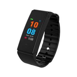 Tlw T2 Plus Fitness Tracker 0.96 Inch Tft Color Screen Bluetooth 4.0 Wristband Smart Bracelet IP67 Waterproof Support Sports Mode Heart Rate Monitor