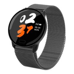 K9S 1.22 Inch Tft Color Screen Smart Watch IP67 Waterproof Metal Watchband Support Call Reminder heart Rate Monitoring blood Pressure Monitoring sleep Monitoring blood Oxygen Monitoring Black