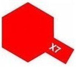 Tamiya - X-7 Red Enamel Model Paint
