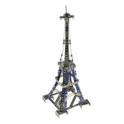 Mofun 3D Metal Puzzle The Eiffel Tower Model Building Stainless Steel Harley Motorcycle 352PCS