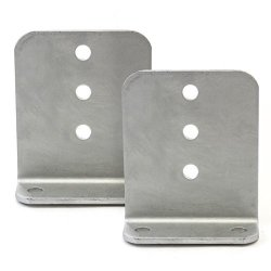 Red Hound Auto 2 L Type Bunk Bracket 6 Inches Tall Hot Dipped Galvanized Boat Trailer Brackets Set