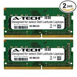 A-tech 8GB Kit 2 X 4GB For Dell Latitude 5000 Series 5270 5280 5414 5470 5480 5490 5491 5495 5570 5580 5590 5591 E5270 E5280 E5470 E5480 E5490 E5491