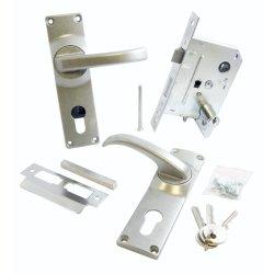 FORT KNOX - Lock Ep Furn Alu Sc Cp-cyl 70MM Q1